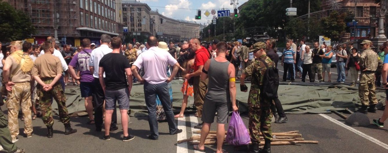 """Захисники комбата """"Айдару"""" Лихоліта погрожують початком третього Майдану"""