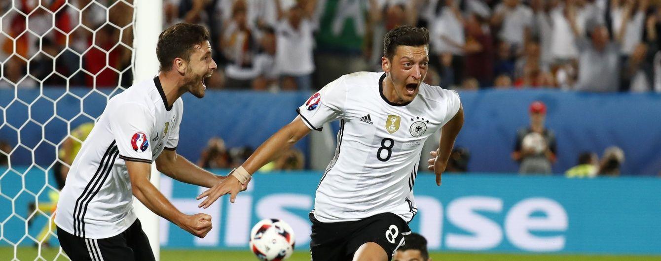 Німеччина в напруженому поєдинку обіграла Італію та вийшла до півфіналу Євро-2016