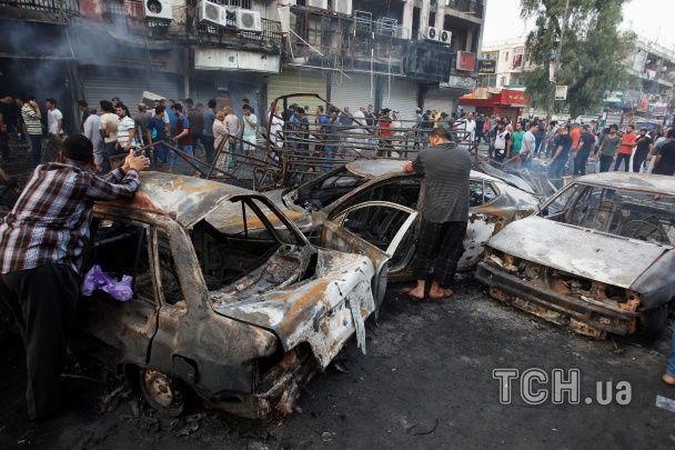 Подвійний теракт у Багдаді