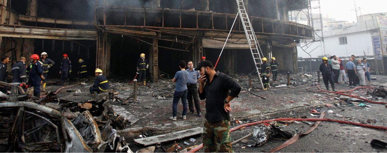 З'явилося моторошне відео кривавих терактів у Багдаді