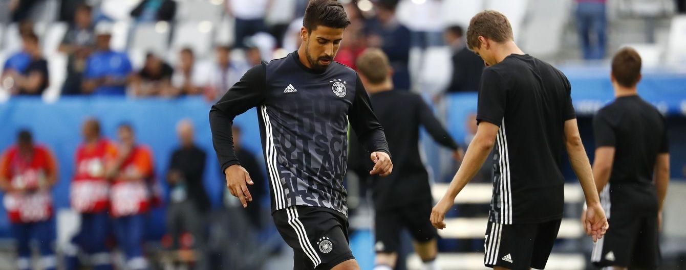Збірна Німеччини втратила основного хавбека на півфінал Євро-2016