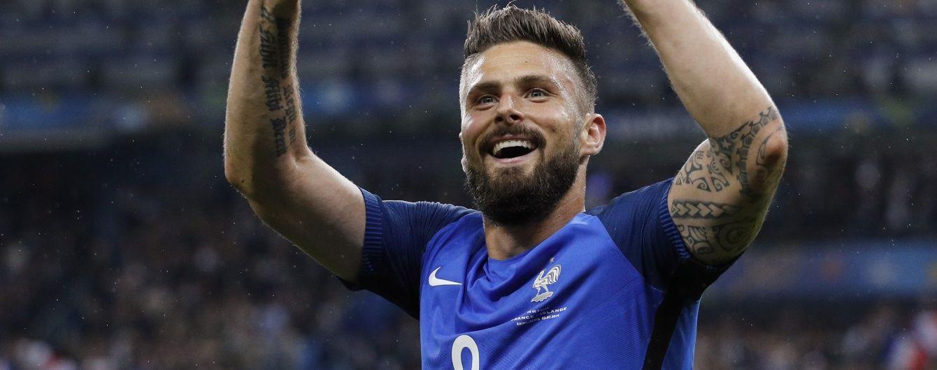 Збірна Франції феєрично вийшла у півфінал Євро-2016