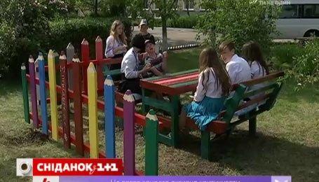 """""""Сниданок"""" помог изменить школу в Новоайдаре"""