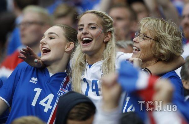 Ісландська краса та французька бабця-шибайголова. Найкращі вболівальниці Євро за 3 липня