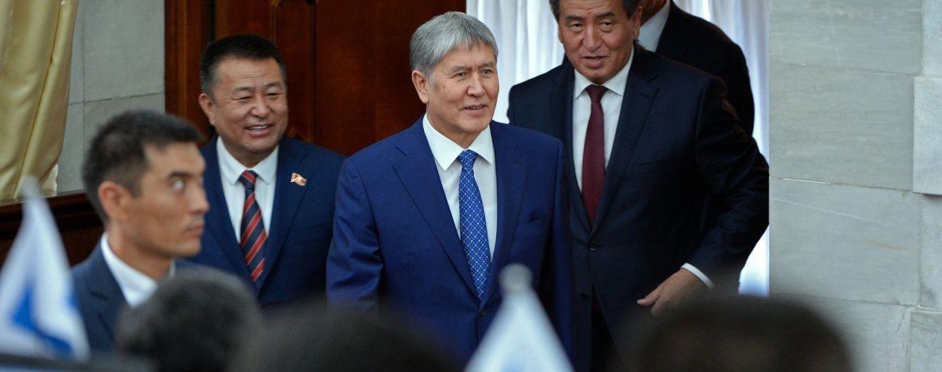 Президент Киргизии прервал поездку на заседание Генассамблеи ООН из-за болезни сердца