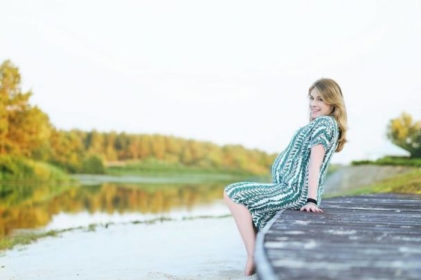 Олена Кравець на останньому місяці вагітності знялася у зворушливій фотосесії