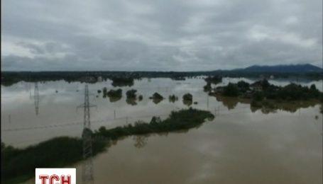 В Китае из-за наводнения пострадали более 43 тысяч человек
