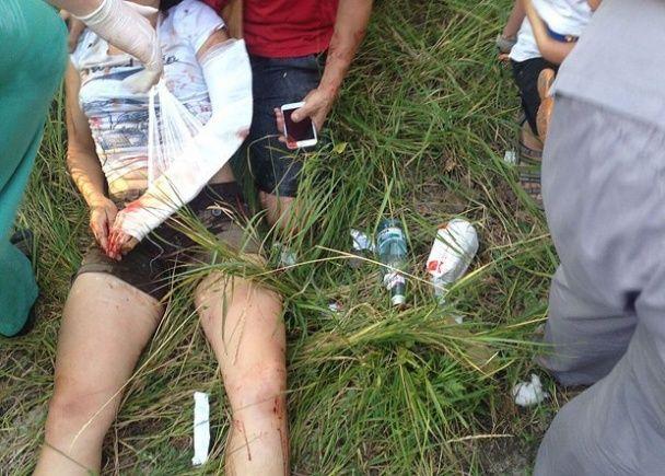 """Опубліковані нові  фото та відео з місця скандального ДТП за участю чиновника """"Укразалізниці"""""""