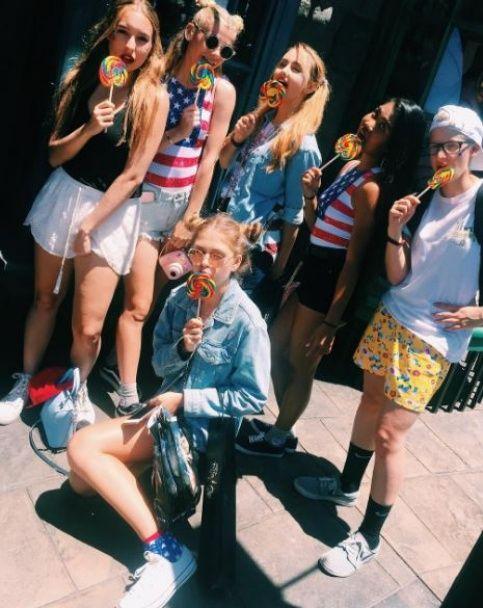 Донька Брежнєвої показала, як проводить канікули у Голлівуді