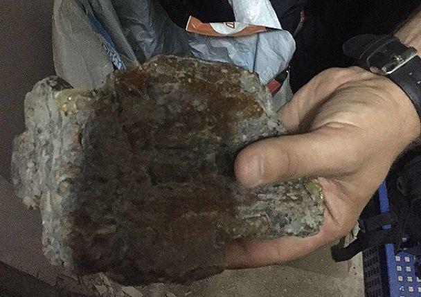 """Спецоперація """"Бурштин"""": силовики вилучили тисячі доларів, 1,5 тонни бруштину та автомати Калашникова"""