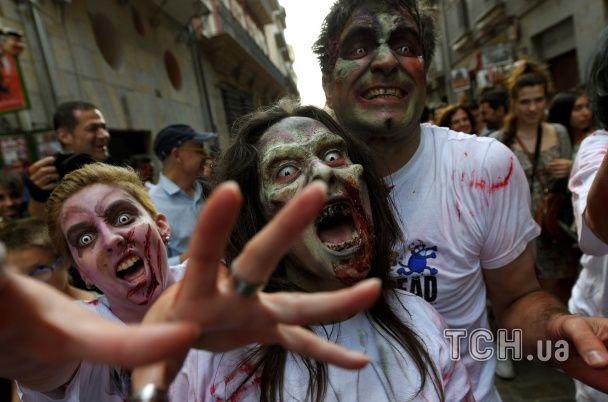 Зоозахисники влаштували моторошну акцію протесту в іспанській Памплоні
