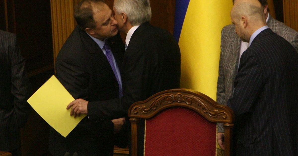 Декабрь 2008 года. Владимир Литвин возглавляет Верховную Раду