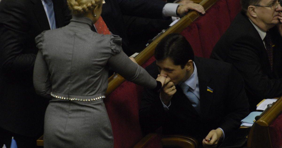 Юлия Тимошенко в зале Рады
