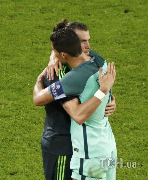 Роналду привітав Бейла з розкішною грою на Євро-2016: Уельс був відкриттям турніру