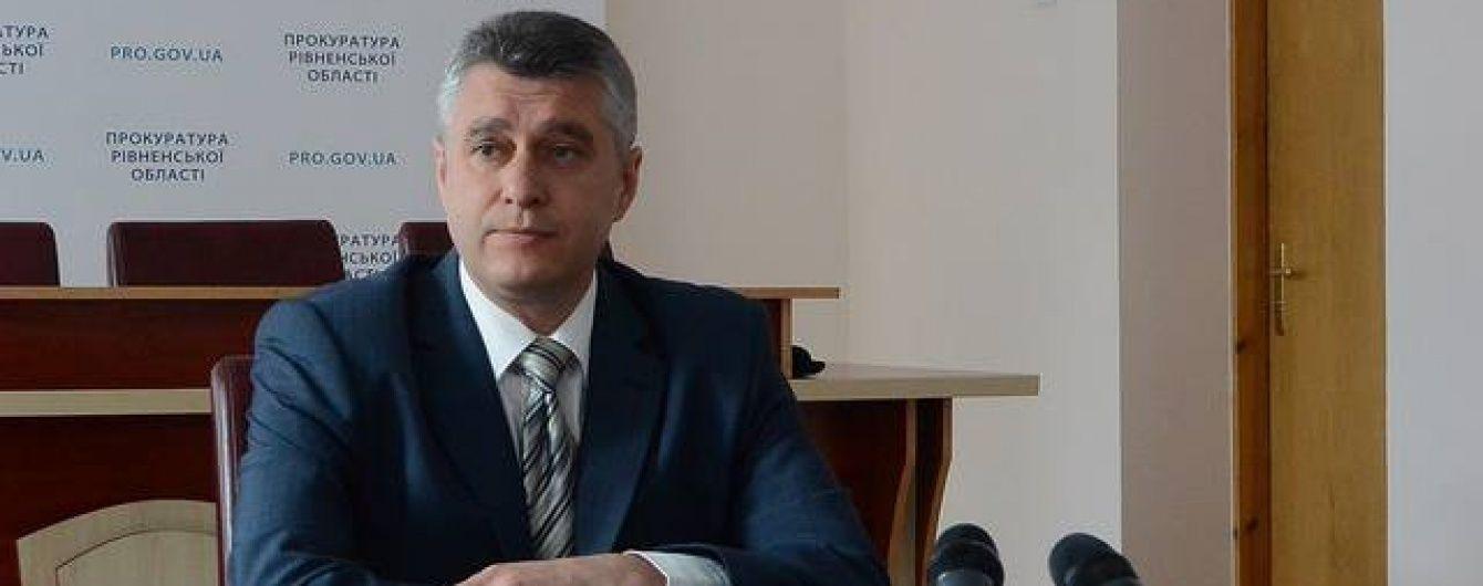 """Прокурор Рівненщини """"вилетів"""" із крісла після бурштинової спецоперації"""