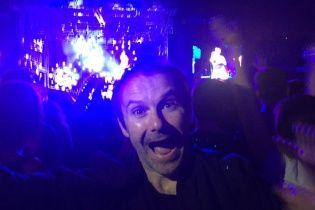 Щасливий Вакарчук у фан-зоні співав пісню Red Hot Chili Peppers на концерті у Києві