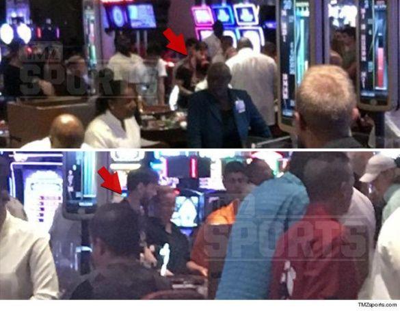 Мессі в казино