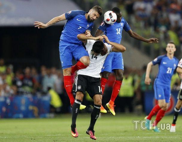 Два уколи. Як Франція обіграла Німеччину у півфіналі Євро-2016