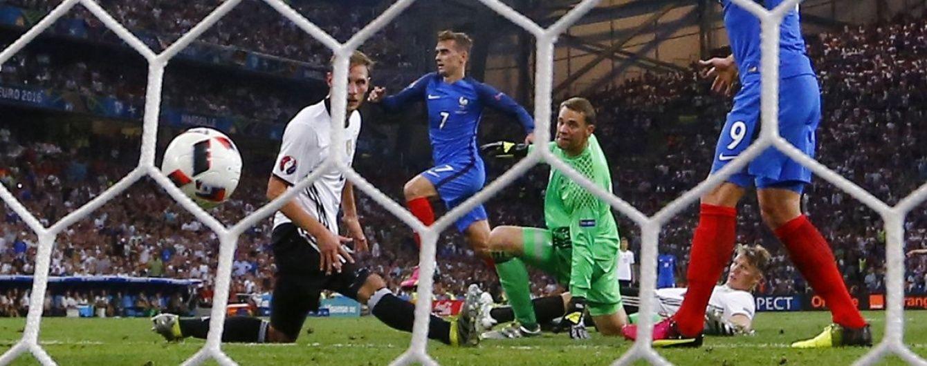 """Французький шлагбаум. Як Грізманн зупинив німецьку """"машину"""" перед фіналом Євро-2016"""
