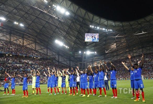 збірна Франції, Німеччина - Франція - 0:2