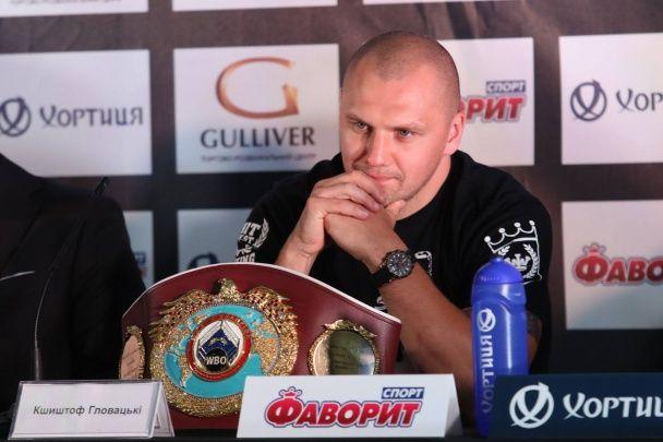 Усик та Гловацьки обмінялися люб'язностями у Києві до чемпіонського бою