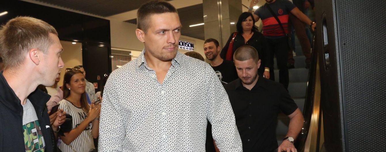 Усик підписав контракт з менеджером Ломаченка