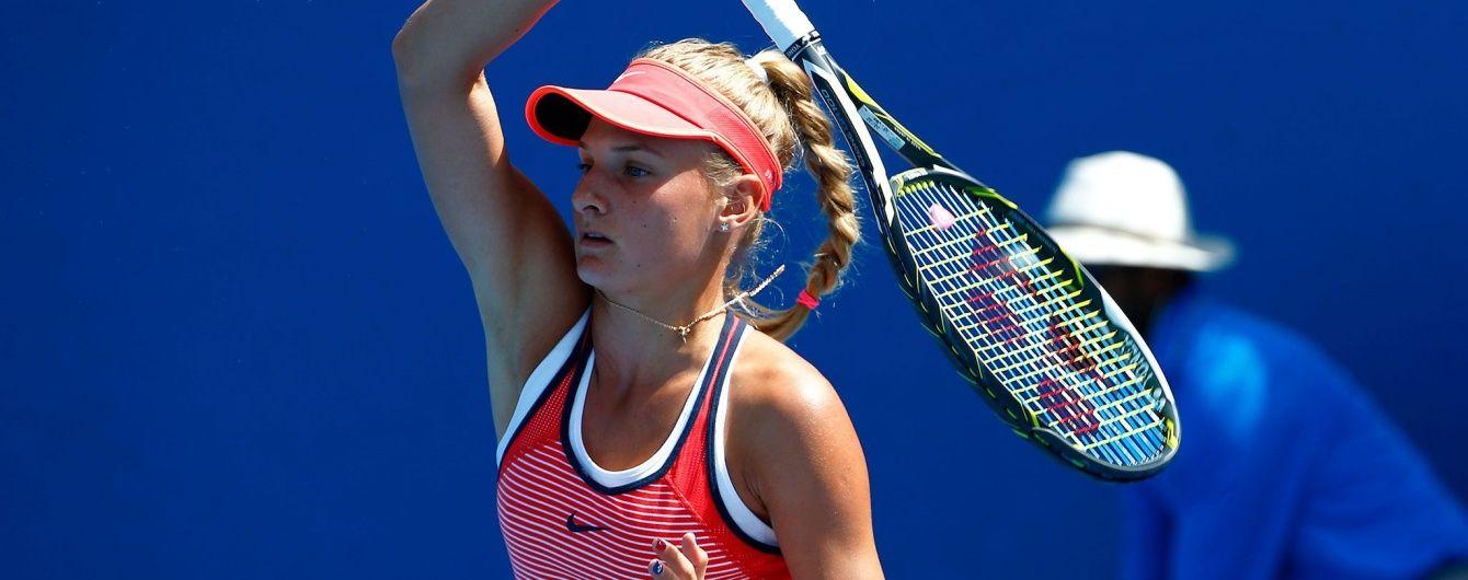 Українська тенісистка обіграла росіянку та вийшла до фіналу юніорського Вімблдону