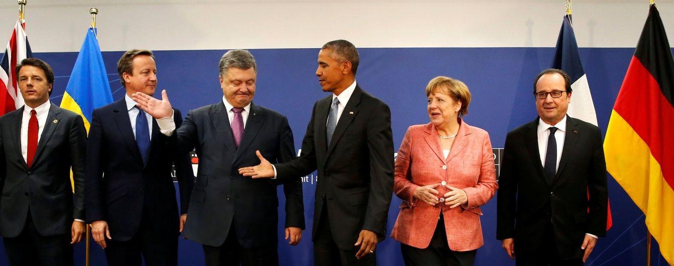 """""""Велика п'ятірка"""" та Україна розроблять дорожню карту для забезпечення безпеки на Донбасі"""