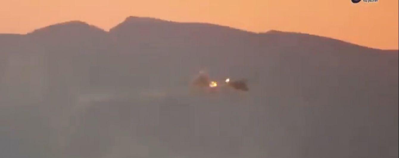 ЗМІ опублікували відео збиття російського вертольота в Сирії