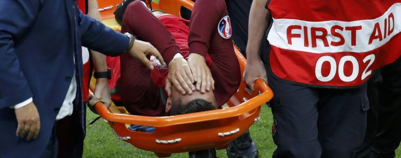 Травма Роналду виявилася серйозною, португалець пропустить 5 місяців – ЗМІ