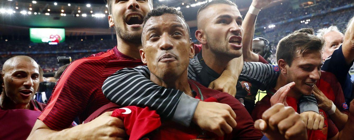 Приголомшливі Кріштіану, Пепе і Даніло: хто і як вітав збірну Португалію з виграшем Євро-2016