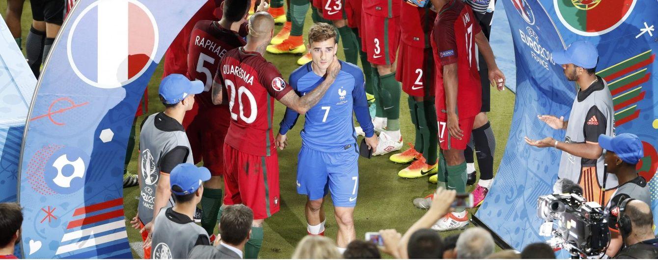 Форвард збірної Франції Грізманн став супербомбардиром Євро-2016