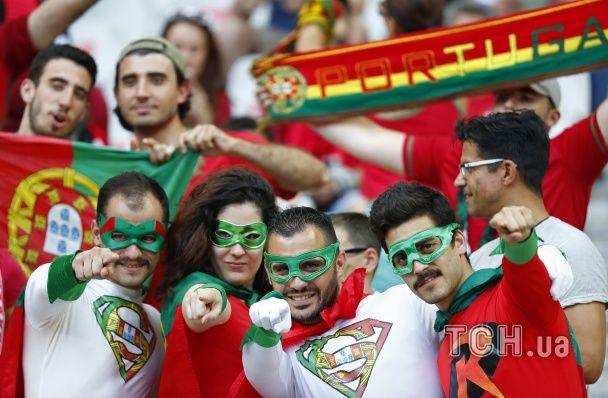 Нестримні сльози французів та ейфорія португальців.  Найкращі фанати фіналу Євро-2016