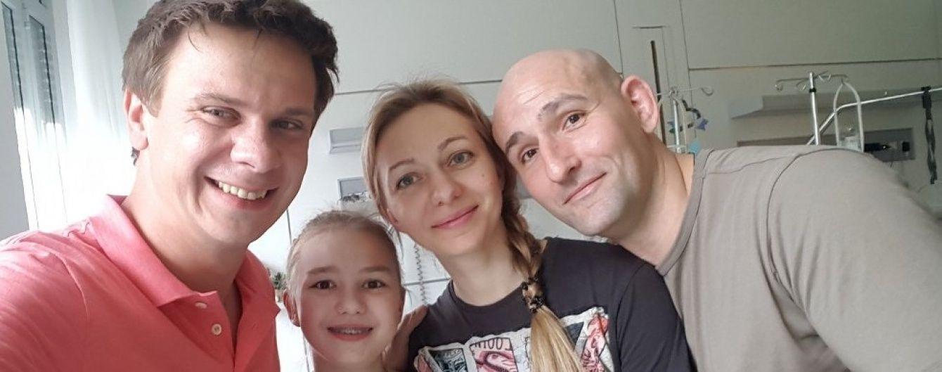 Дмитру Комарову вдалося зібрати всі необхідні кошти на складне лікування дівчинки