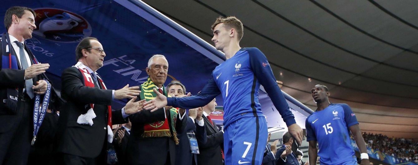 Офіційно. Грізманн визнаний найкращим футболістом Євро-2016