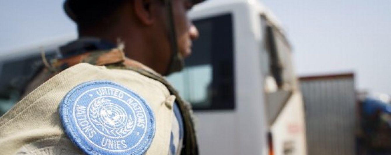 Для захисту гумконвою на Гаїті миротворці ООН використали сльозогінний газ