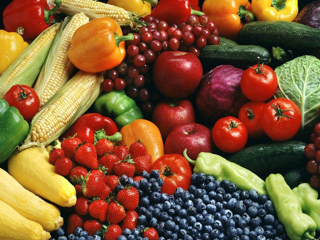 фрукти овочы