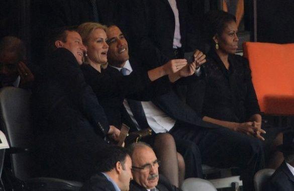 Селфі Обами та Кемерона