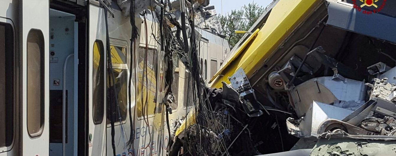 Журналісти оприлюднили перше відео з місця аварії потягів в Італії