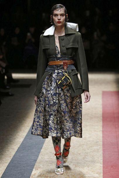 Мебельные принты на одежде - писк моды сезона осень-зима 2016-2017
