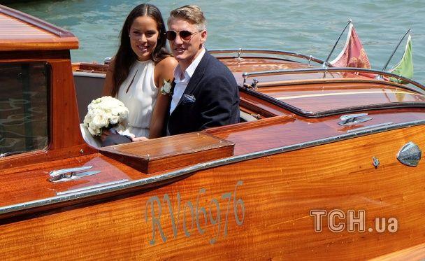 Швайнштайгер та Іванович зіграли весілля у Венеції