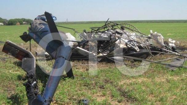 З'явилися фотографії з місця катастрофи вертольота на Сумщині