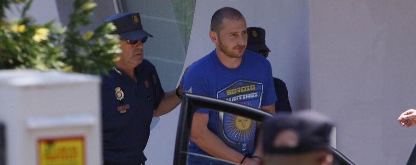 У Мережі з'явилося відео затримання іспанською поліцією сина Черновецького
