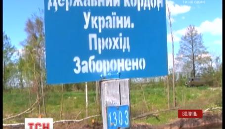 Жители села Ветлы устроили протест через линию границы с Беларусью
