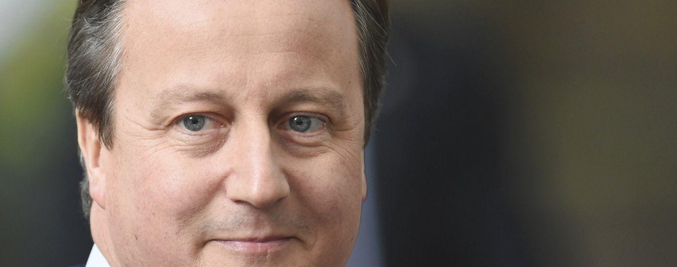 Кемерон йде з британського парламенту