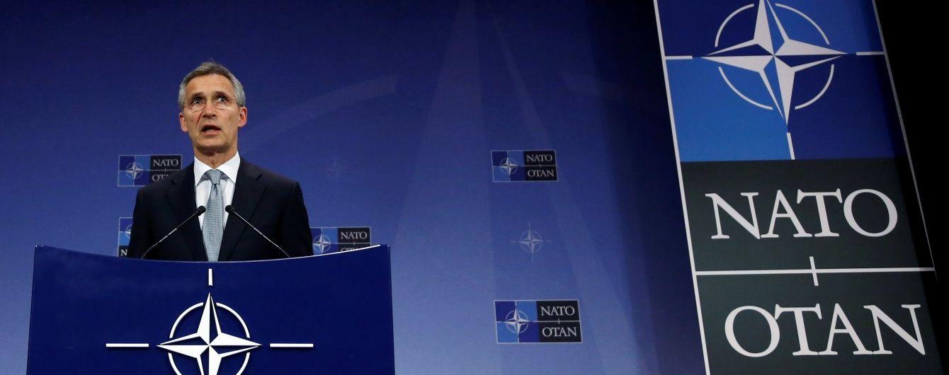Генсек НАТО заверил в солидарности с Украиной