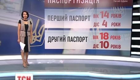 Украинцы будут получать биометрический паспорт гражданина в 14 лет
