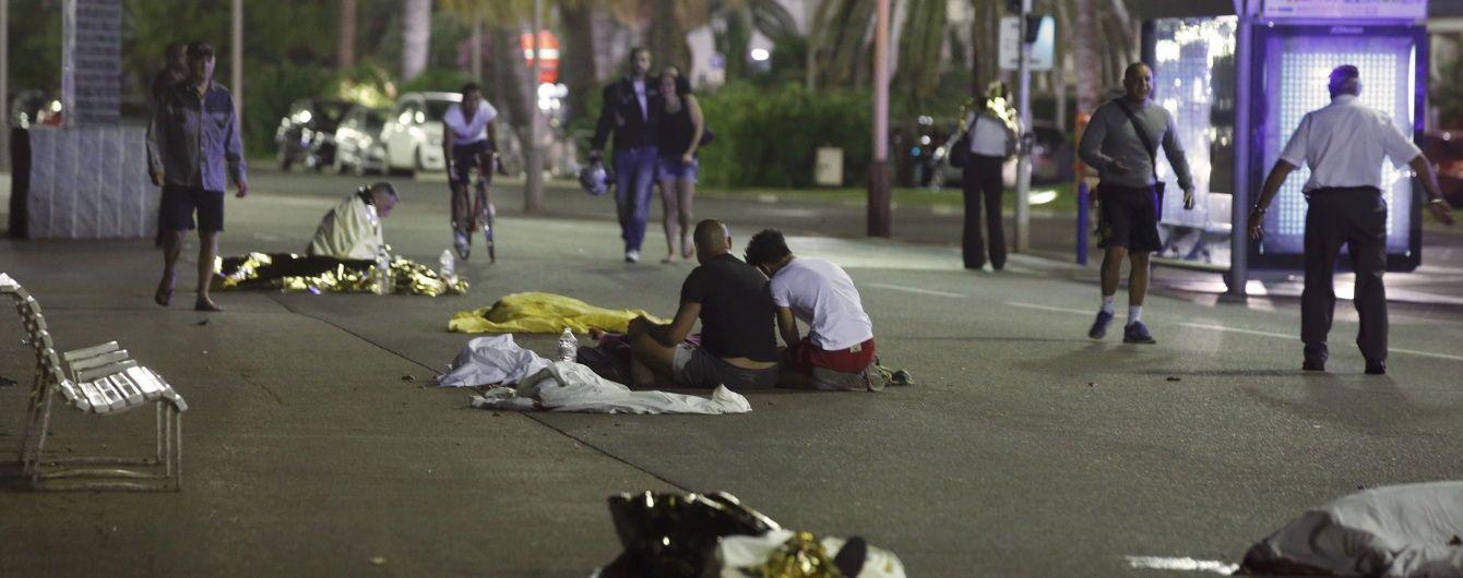 Кількість загиблих унаслідок теракту в Ніцці зросла до 80 осіб