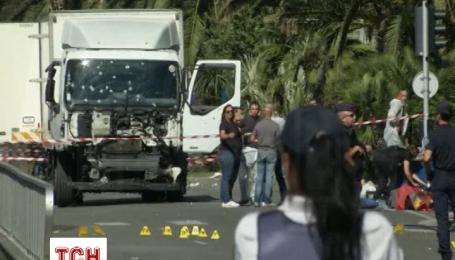 У Ніцці тіла загиблих і вантажівка досі перебувають на набережній через слідчі дії