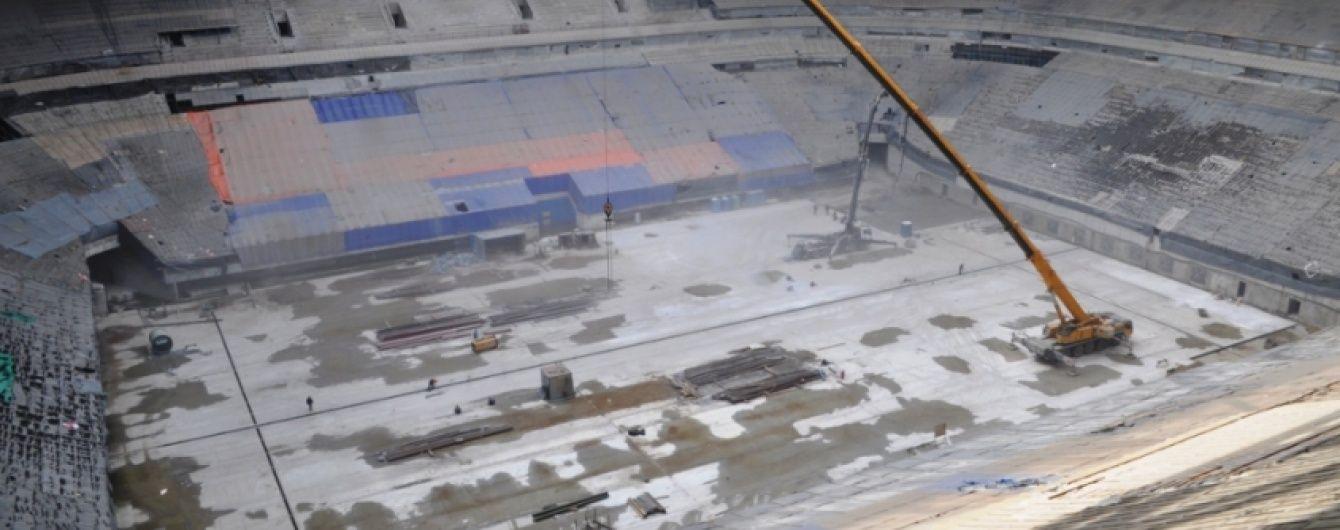 """Недостроенный стадион """"Зенита"""" взяли под """"особую стражу"""""""